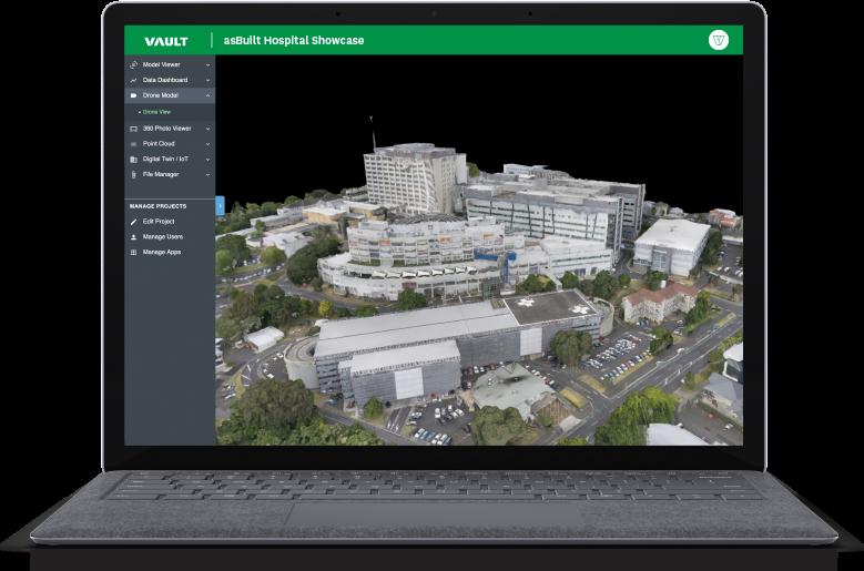 Connected Healthcare - Vault 3D Spatial Intelligence Platform
