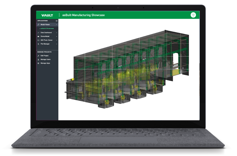 Connected Manufacturing - Vault 3D Spatial Intelligence