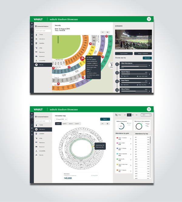 Vault Dashboards for Stadium
